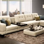 диван угловой уютный
