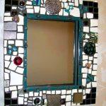 варианты оформления рамки для зеркала своими руками