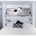 встроенная кровать в стенную нишу