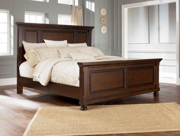 выбрать деревянную кровать