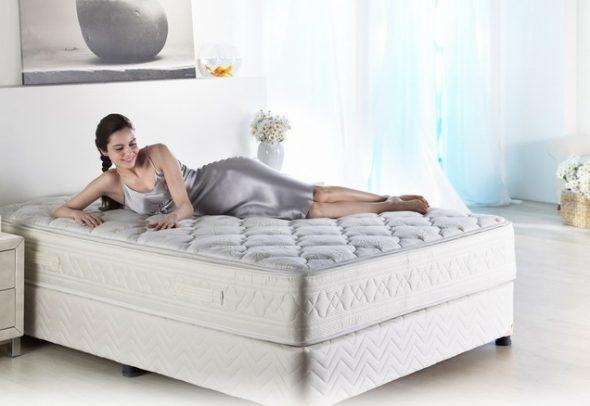 выбрать удобный матрас для кровати