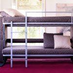 диван трансформер в двухъярусную кровать вид изделия