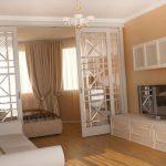 Дизайн однокомнатной квартиры для троих с ребенком