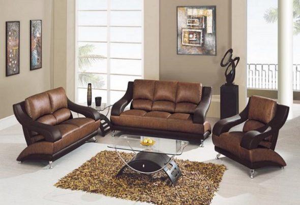 Достоинства и недостатки кожаной мебели