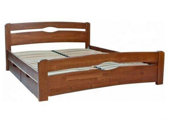 Двуспальная кровать Нова с 4-мя ящиками
