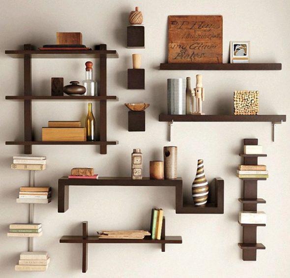 Функциональные и симпатичные полки на стену пригодятся в любой комнате дома или квартиры