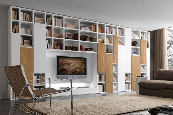 Красивый дизайн мебели в гостиную
