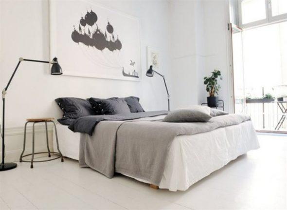 Кровать без изголовья двуспальная