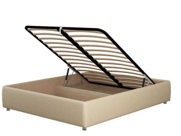 Кровать без изголовья с подъемным механизмом Como