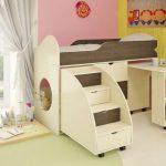 кровать чердак в детскую