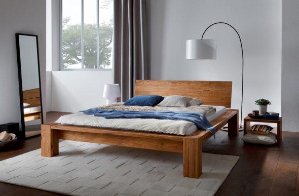 Кровать из массива дуба Cobo