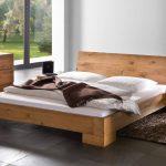 Кровать из массива дуба Vaco