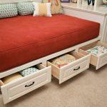 Кровать с ящиками – отличный вариант для подростков
