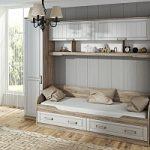 Кровать с ящиками Прованс