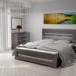 Кровать с ящиками для белья Соломия двуспальная