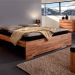 Кровати из массива дерева-изображения