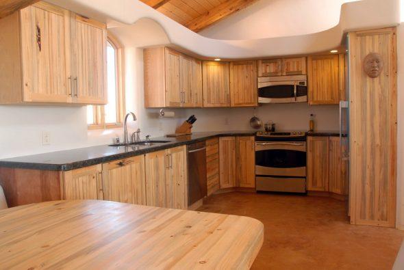 Кухня из мебельных щитов своими руками-изображения