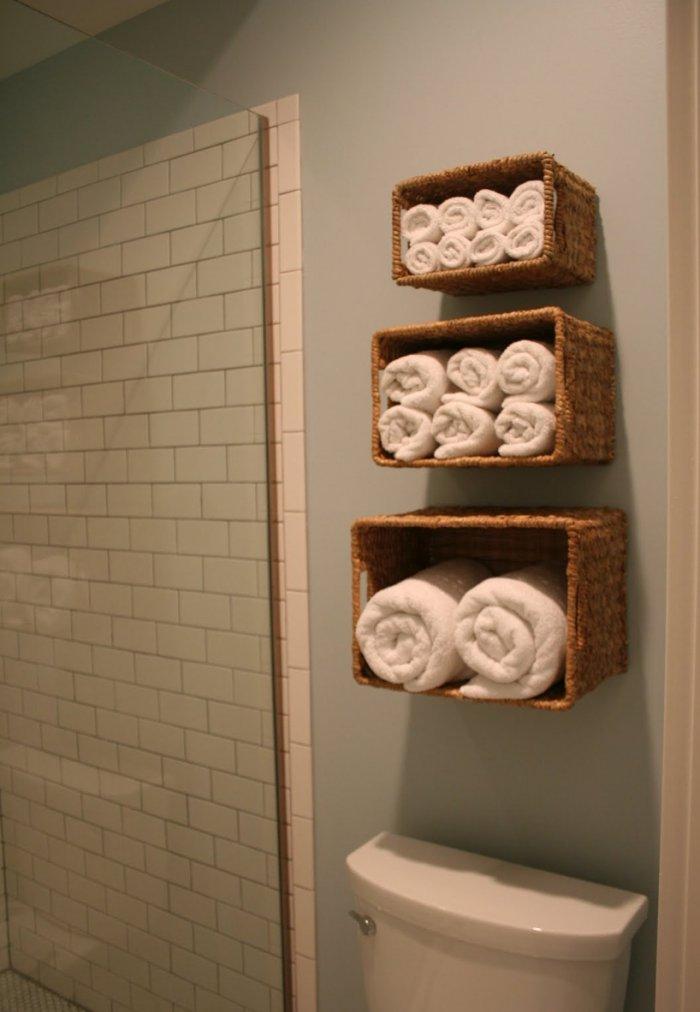 Дизайн ванной своими руками из подручных 65