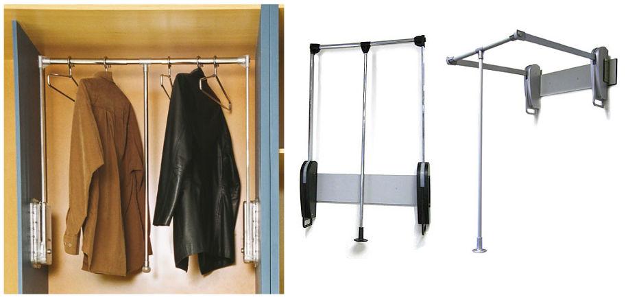 Пантографы для шкафов купе: преимущества и недостатки.