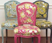 Перетяжка стульев - поэтапное руководство