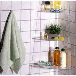 Полочки для ванной комнаты своими руками-установка