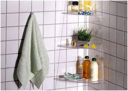 Полки для ванной своими руками