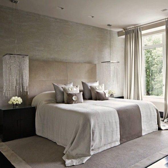 Правильное расположение кровати в спальне
