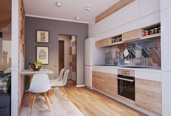 Рациональное использование пространства в однокомнатной квартире