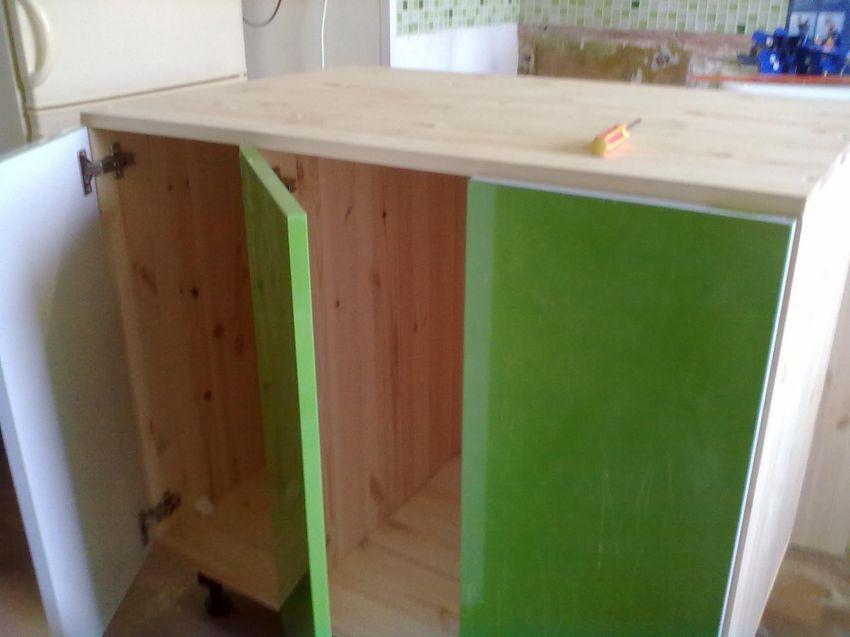 Кухня своими руками из деревянных щитов своими руками