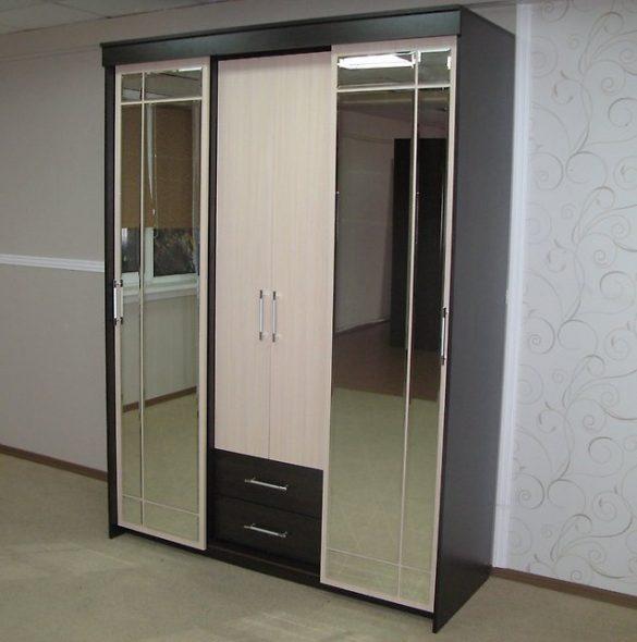 Сити Шкаф-купе 1.5 без зеркала