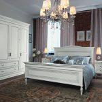 Спальная комната из массива дерева