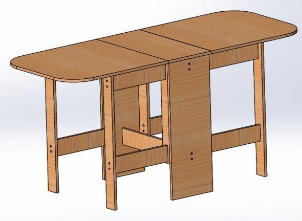 Стол-книжка-изготовления