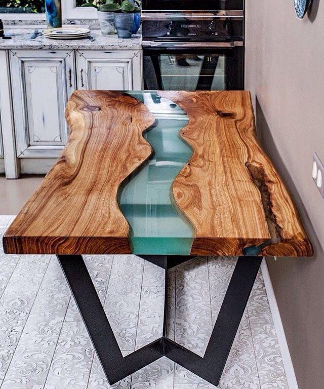 227Как сделать стол из слэба