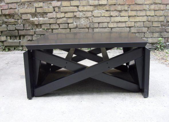 Столы трансформеры черного цвета