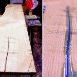 Светящийся стол-процесс изготовления