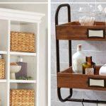 Виды деревянных полок для размещения над ванной