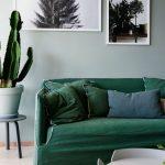 чехол на диван зеленый