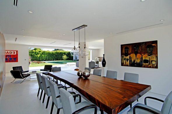 деревянный стол фото идеи