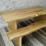 деревянный стол идеи фото