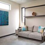 диван двухъярусная кровать трансформер в гостиной