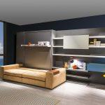 диван двухъярусная кровать трансформер в зале