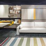 диван двухъярусная кровать трансформер белый