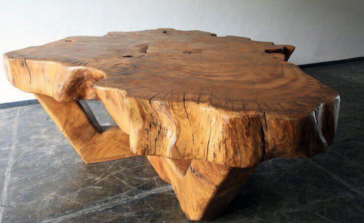 Столешница из цельного дерева своими руками 1