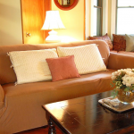 еврочехлы на диваны и кресла коричневые