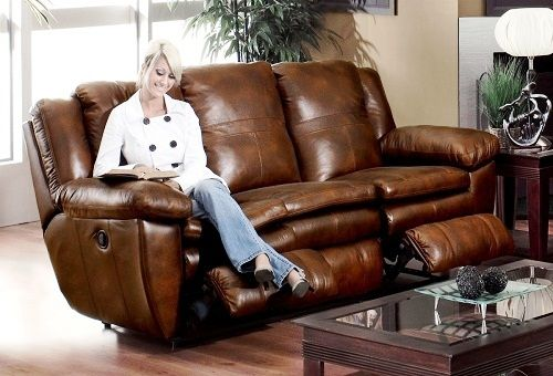 кожаная мебель в доме