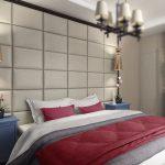 кровать без изголовья в дизайне
