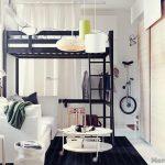кровать икеа интерьер фото