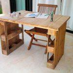 письменный стол из поддонов