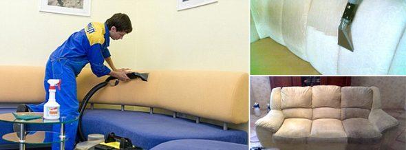 почистить мягкую мебель в домашних условиях фото