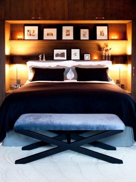 полки спальня